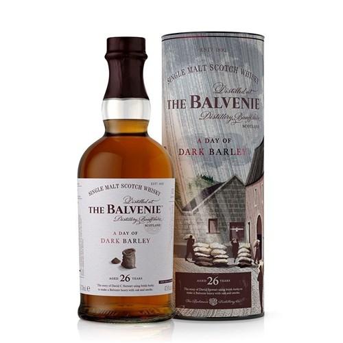 Whisky Balvenie 26 ans - A Day of Dark Barley 47,8° 70 cl