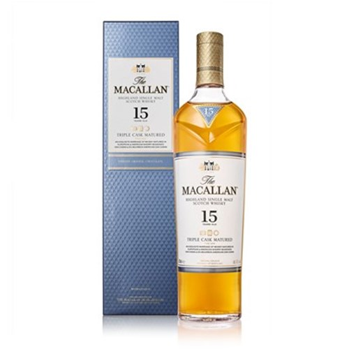 Whisky Macallan Triple Cask 15 ans 43° 70 cl