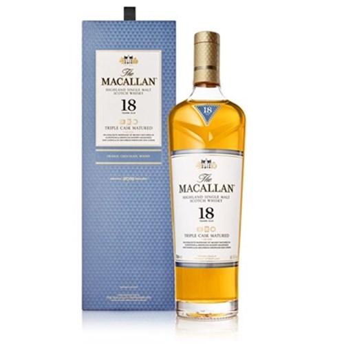 Whisky Macallan Triple Cask 18 ans 43° 70 cl