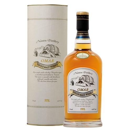 Whisky Omar - Bourbon cask - Single Malt Whisky 46° 70 cl