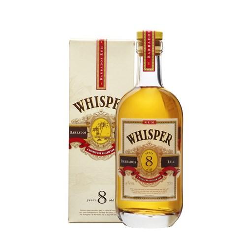 Whisper 8 Ans - Barbados Rum 40° 70 cl