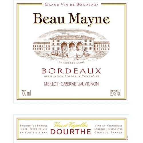 Beau Mayne Red Bordeaux 2016