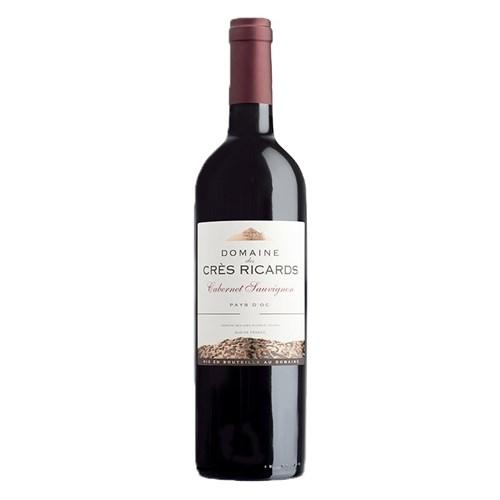 Cabernet Sauvignon 2019 - Domaine des Crès Ricards - IGP Pays d'Oc