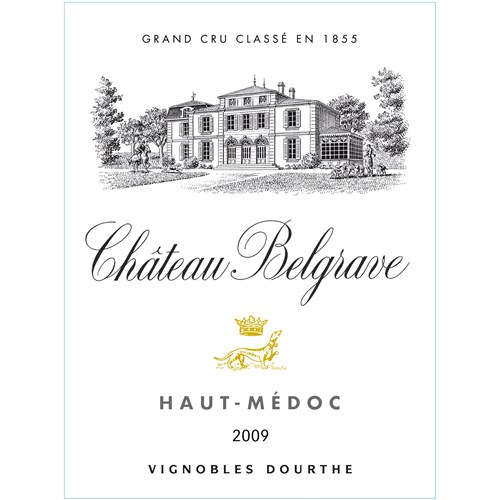 Château Belgrave 5th Classified Growth - Haut Médoc - 2009