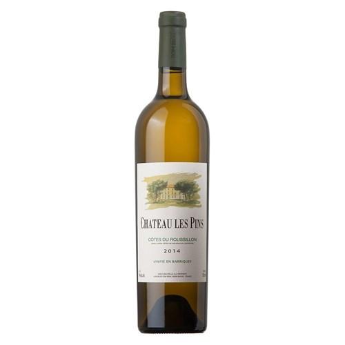 Château Les Pins Blanc 2014 - Côtes du Roussillon Villages - Dom Brial