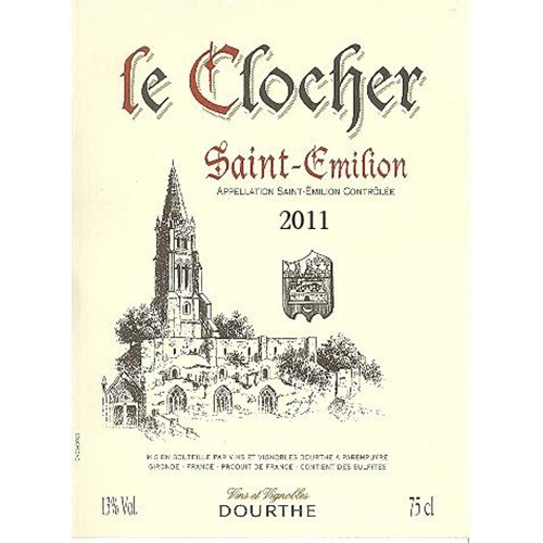 Le Clocher - Saint-Emilion 2014