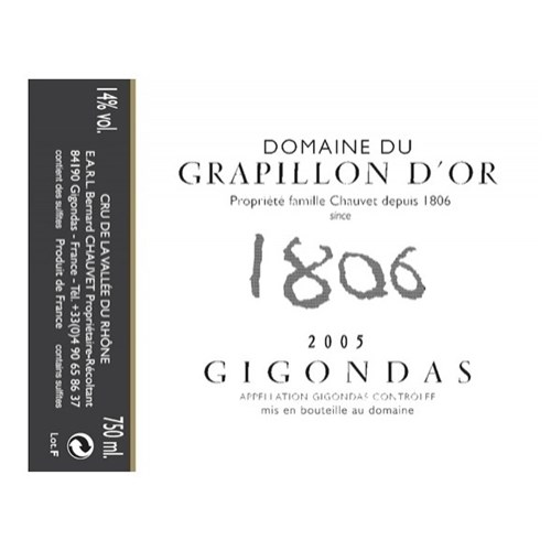 Domaine du Grapillon d'Or - You can click to enlarge the photo