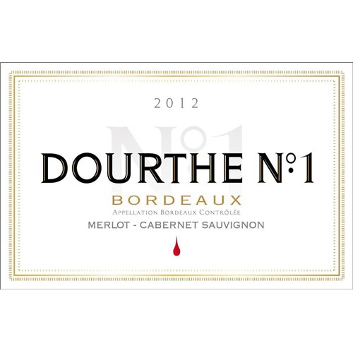 Dourthe n°1 Rouge Bordeaux 2018