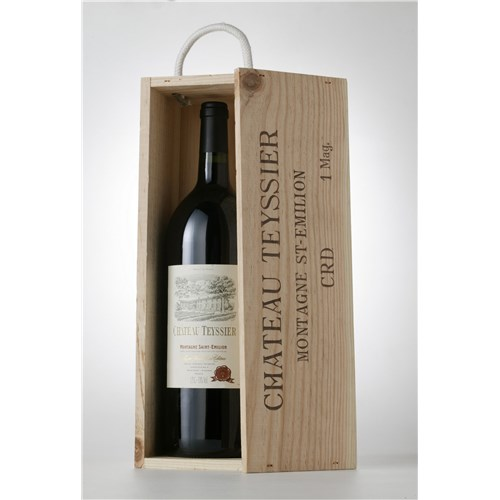 Magnum Château Teyssier Gift Box - Montagne Saint Emilion - 2015 6b11bd6ba9341f0271941e7df664d056