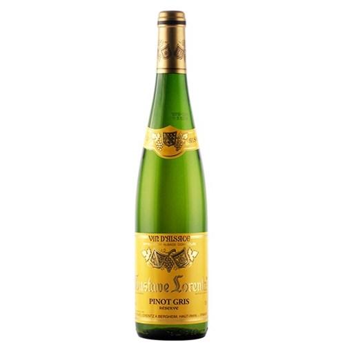 Pinot Gris Réserve 2018 - Alsace - Gustave Lorentz