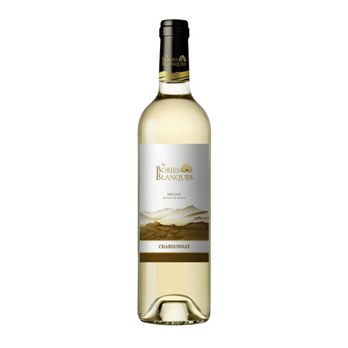 The Bories Blanques - Chardonnay - Pays d'Oc 2016
