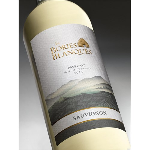 The Bories Blanques - Sauvignon - Pays d'Oc 2015