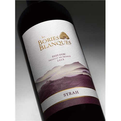 The White Bories - Syrah - Pays d'Oc 2015