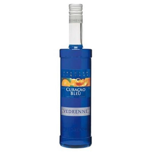 Liqueur curacao blue 25 ° 70 cl Vedrenne