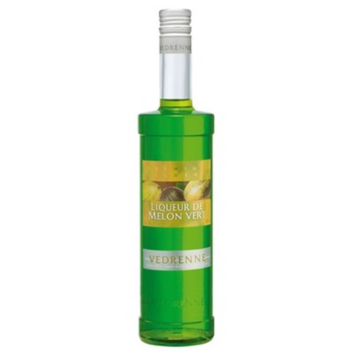 Liqueur of green melon 20 ° 70 CL Vedrenne