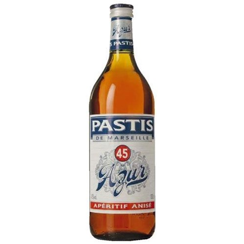Pastis of Marseille Azur 45 ° 1L