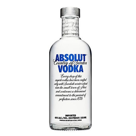 Vodka Absolut Blue 40 ° 35 cl