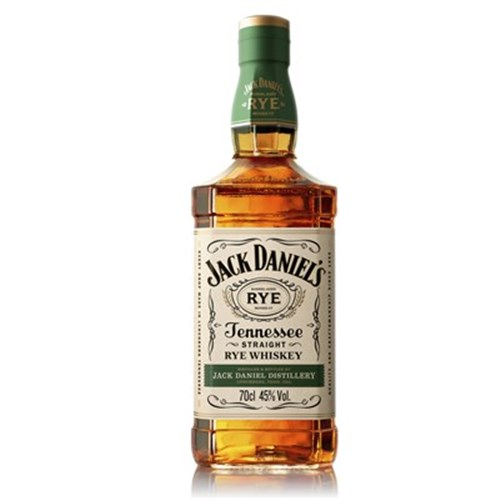 Whiskey Jack Daniel's Rye Whiskey 45 ° 70 cl 6b11bd6ba9341f0271941e7df664d056